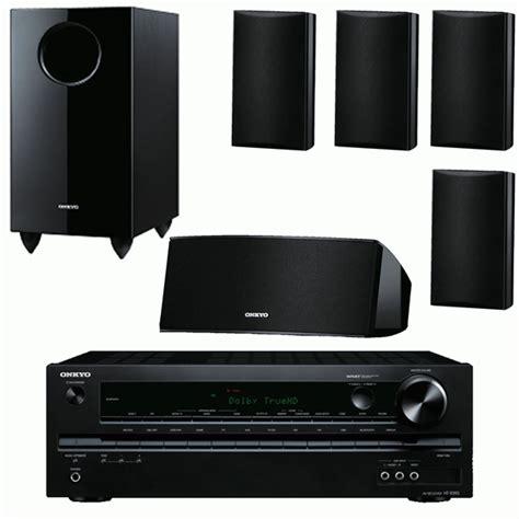 surround sound system onkyo 5 1 surround sound system with lifier speakers