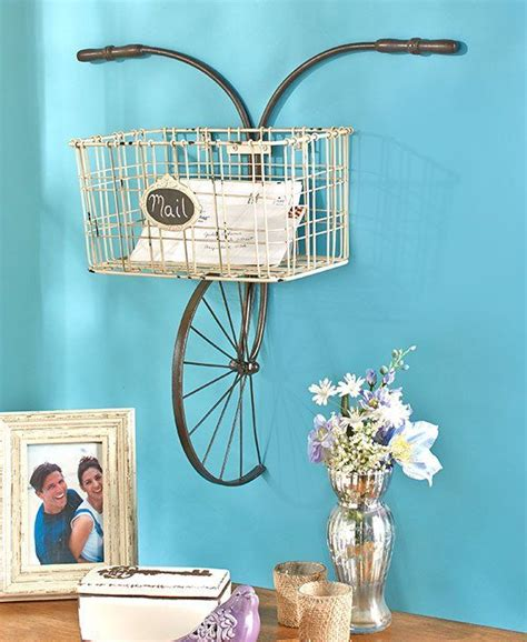 Low basket with handles used for wall decor. The 25+ best Wall basket ideas on Pinterest   Market baskets, Basket decoration and Rustic wall ...