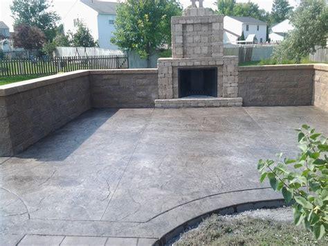 syracuse pool and patio concrete patios syracuse ny cny sealing