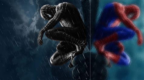 black spiderman iphone wallpapers hd pixelstalknet