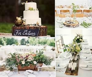 Décoration Mariage Champêtre Chic : deco bois champetre mariage weddings wedding wedding ~ Melissatoandfro.com Idées de Décoration