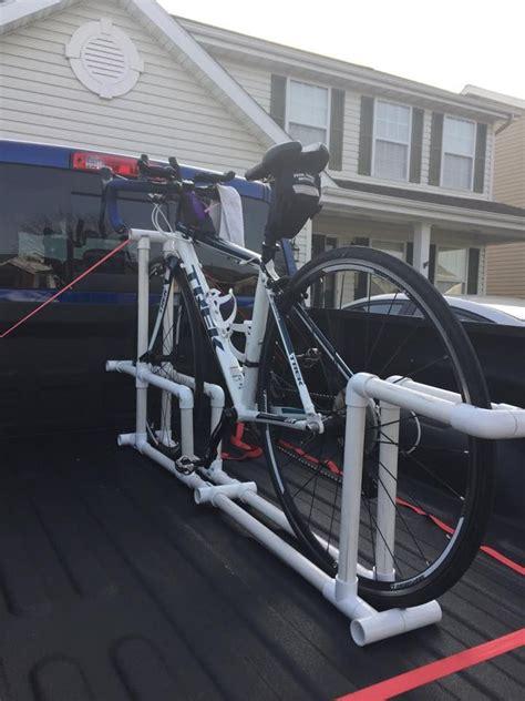bike rack    pvc  truck pvc projects truck