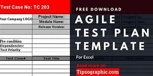 Project Charter Gantt Chart Agile Test Plan Template For Excel Free Download