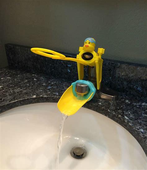 aqueduck faucet extender aqueduck handle faucet extenders momma in flip flops
