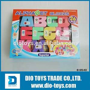 best selling kids plastic plastic alphabet block for With plastic magnetic letters bulk