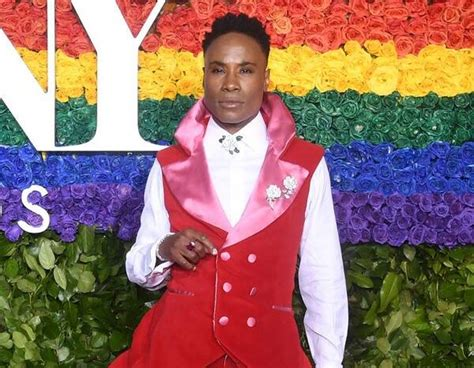Billy Porter From Tony Awards Red Carpet Fashion