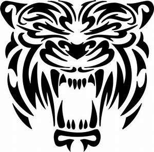Gallery For > Tribal Tiger Logos