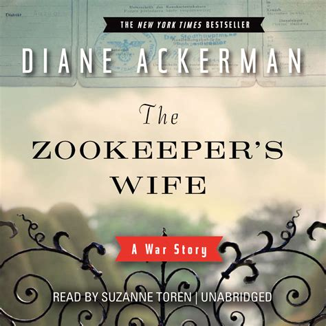 the zookeeper s audiobook by diane ackerman