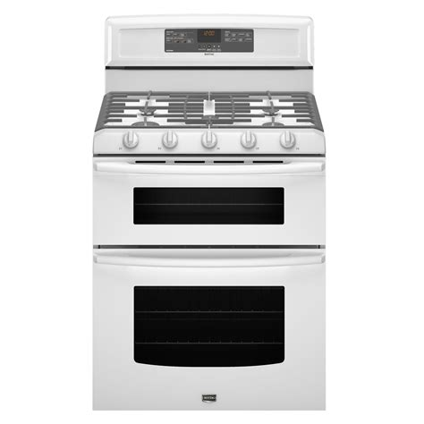 maytag mgt8775xw 6 cu ft oven gas range w