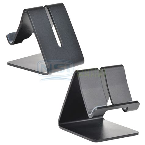 telephone desk stand universal desk aluminum metal portable stand holder mount