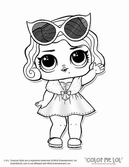 Coloring Lol Pages Doll Dolls