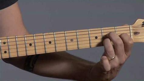 A sharp guitar