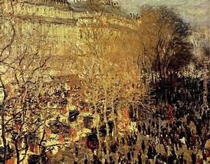 Claude Monet Boulevard Des Capucines I painting anysize 50 ...