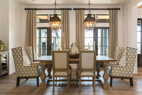 dazzling wingback dining chair  dining room transitional