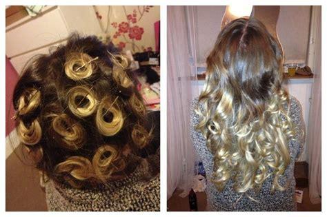 pin curls     hair creations