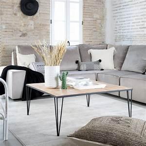 Table Basse 100x100 : scandi table basse 100x100 banak importa ~ Teatrodelosmanantiales.com Idées de Décoration