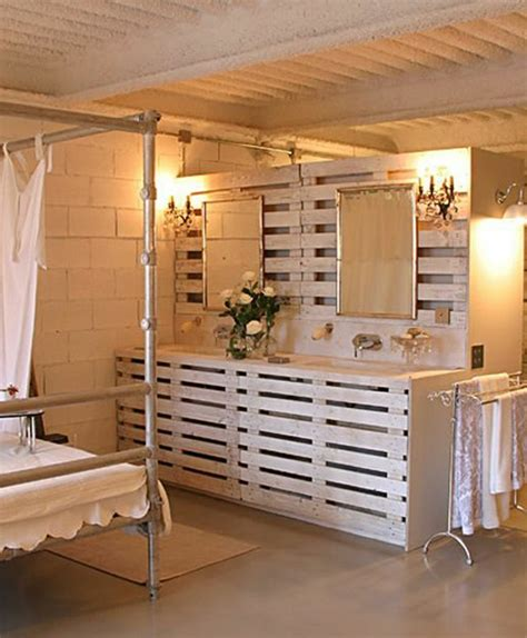 deco chambre avec palette idées originales de meubles en palettes archzine fr