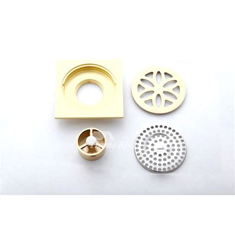 4 inch square shower drain cover thicken brass 4 inch square shower drain cover floor mounted