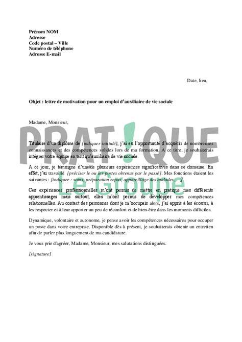lettre de motivation auxiliaire de bureau cv auxiliaire de vie maison de retraite segu maison
