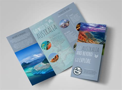Travel Australia Tri-fold Brochure Template Business Card Exchange Activity Render Free How To Attach Email In Outlook 2007 Design Software For Online 2010 Download Psd File Quilting Templates