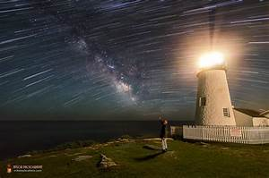 Star trails, Milky Way shine over lighthouse in dazzling ...