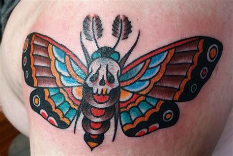 traditional moth tattoo designs amazing tattoo ideas