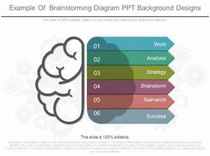 Example Of Brainstorming Diagram Ppt Background Designs
