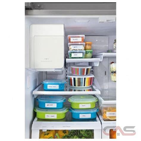 frigidaire gallery fghgpf french door refrigerator  width freezer located ice dispenser
