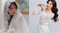 林志玲婚紗照曝光!蕾絲炸雪乳 網讚:最美新娘
