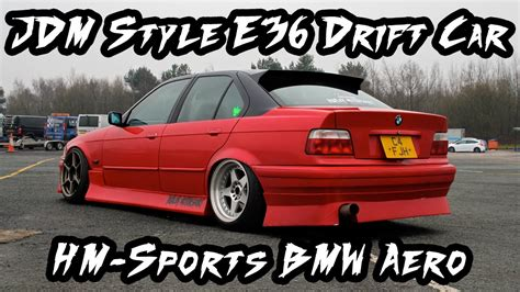 The style 66 wheel is part of bmw's lineup of oem wheels. JDM Style BMW E36 Drift Car with HM-Sports Aero - YouTube