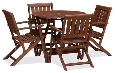 chatham folding bistro table chair set modern