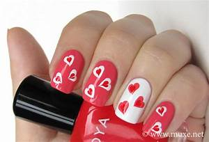 15 Valentine Nail Design Ideas – Best Easy Manicure Trend ...