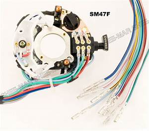 Sm47f Ford Truck Bronco Van Turn Signal Switch 73 74 75 76