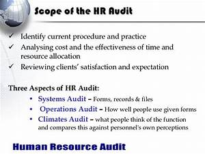 Hr audit for Internal audit scope template