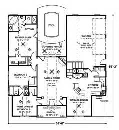 single story floor plans with open floor plan house plans and design house plans single story with loft