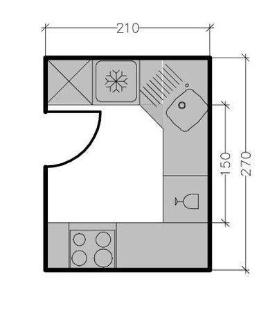 plans cuisine maison 7 solutions pour une disposition en