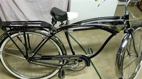 Schwinn Jaguar Mark II Bicycle 1958 Original Classic - YouTube