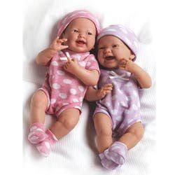 amazoncom    twin baby dolls toys games