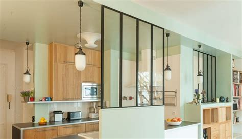 cuisines semi ouvertes sur le salon ou la salle 224 manger c 244 t 233 maison