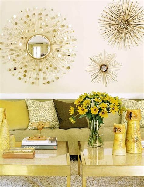 Using Gold Accents In Interior Design by Mustard And Gold Accents Ideas And Inspiration