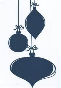 items similar to large christmas ornament silhouette on etsy
