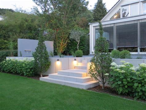 Garten Modern by Moderner Hanggarten In Coburg Gartendesign Lauenstein