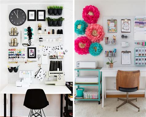 pegboard accessories for office 5 inventive ways to use pegboards for more storage personal mini storage blog