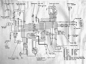 1965 Honda C100 Wiring Diagram