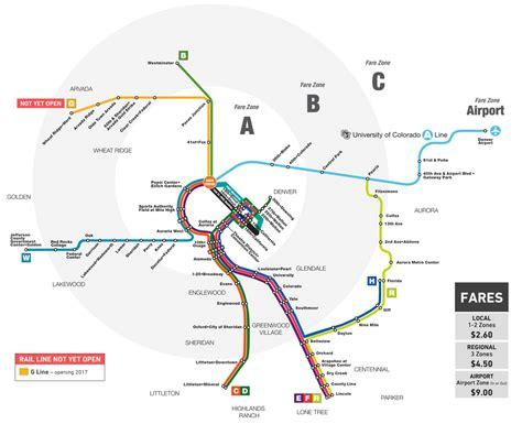 light rail map denver wash park prophet r line now open
