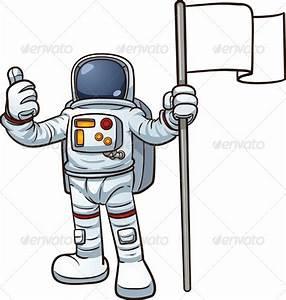 Cartoon Astronaut | GraphicRiver
