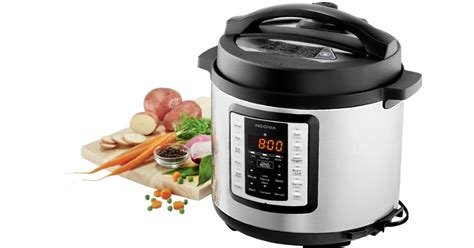 cooker insignia pressure multi function quart stainless steel 6qt qt rated kitchen deal cyber reg shipped quarts anith highly put