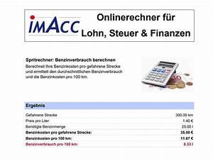 Benzin Kosten Berechnen : benzinrechner spritrechner spritkostenrechner spritverbrauch berechnen ~ Themetempest.com Abrechnung