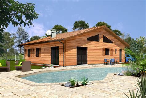nos exemples de mod 232 les ou sur mesure maisons bois massif et ossature bois alaya maisons bois