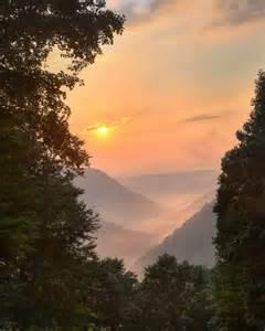 Blue Ridge Mountains West Virginia Sunset